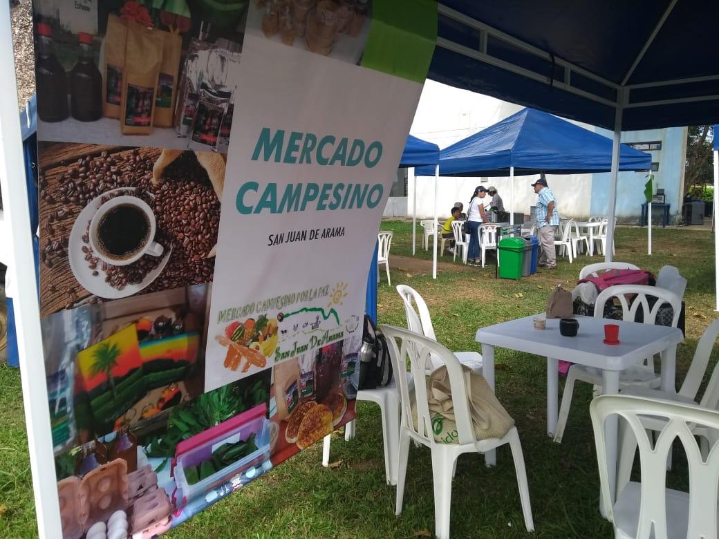 Noticias desde nuestros nodos Regionales . Mercados Campesinos de Villavicencio.