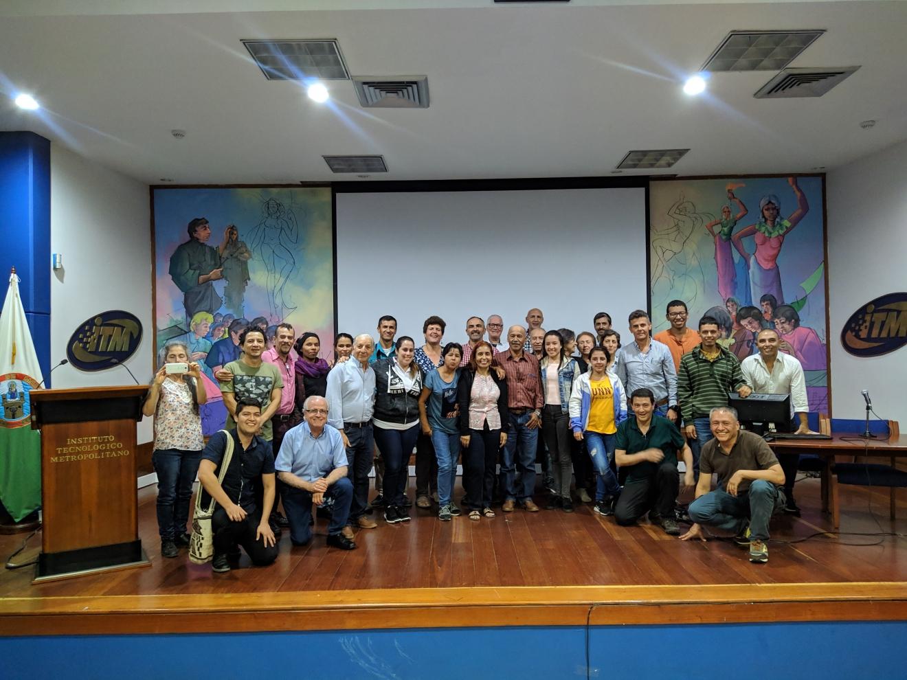 Encuentro nodo regional Antioquia.